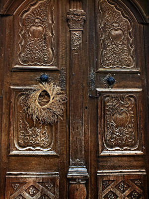 Photograph - Harvest Door by Lucinda Walter