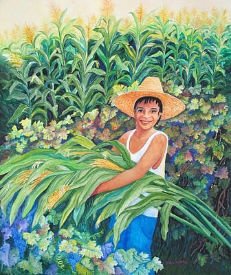 Painting - Harvest Magic by Beverly Martin