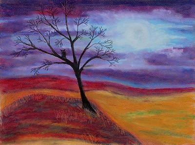 Painting - Harvest Moon 2 by Jeanne Fischer