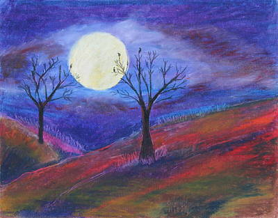 Painting - Harvest Moon 3 by Jeanne Fischer