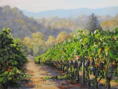 Painting - Harvest Morning by Karen Ilari