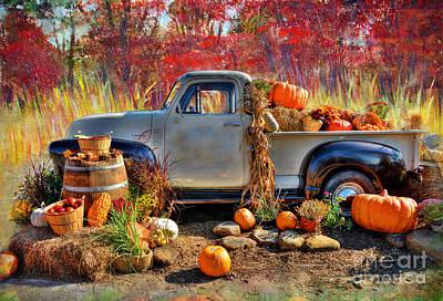 Harvest Art Print by Savannah Gibbs