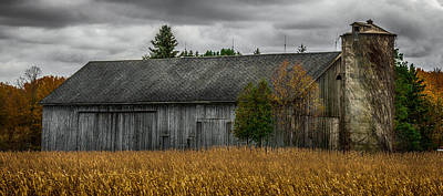 Farm Scene Photograph - Harvest Season by Paul Freidlund