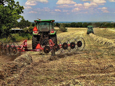 Wall Art - Photograph - Harvest Time Again by Shannon Story