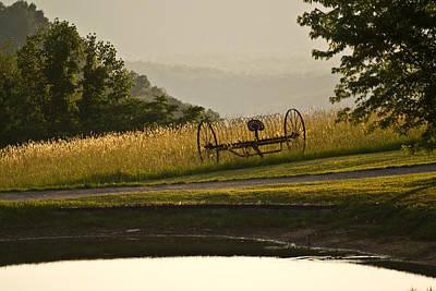 Photograph - Harvest Time by Douglas Barnett