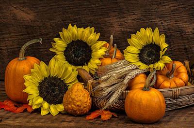 Harvest-time Art Print