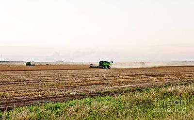 Harvest Time Art Print by Scott Pellegrin