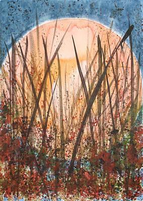 Harvest Womb Art Print