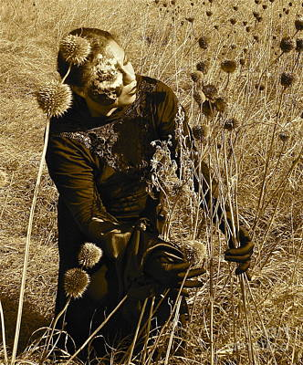 To Heal Photograph - Harvesting Pain by Esther Anne Wilhelm