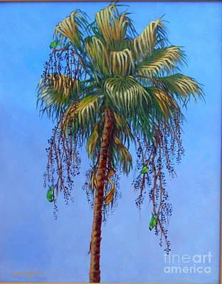 Sandra Williams Painting - Harvesting The Berries II by Sandra Williams