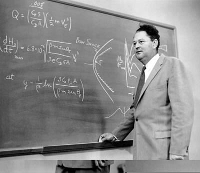 Harvey Allen, Us Aeronautical Engineer Print by Science Photo Library