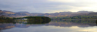 Donegal Photograph - Harveys Point On Lough Eske Panorama by Bill Cannon