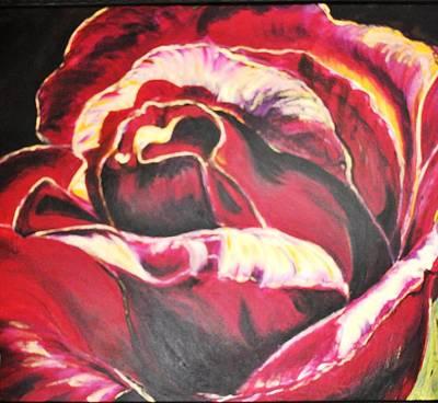 Painting - Harvey's Rose by Ramona Wright