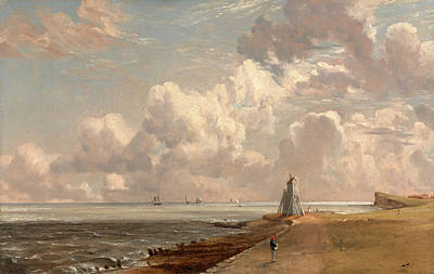 Beacon Hill Painting - Harwich The Low Lighthouse And Beacon Hill Harwich by Litz Collection