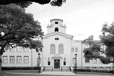 Claremont Colleges Photograph - Pomona College Mason Hall by University Icons