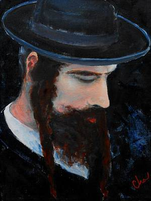 Hasidic Judaism Painting - Hasid by Casey Olson