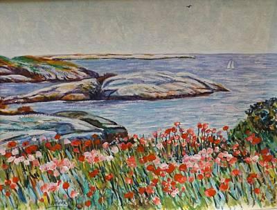 Hassam Appledore Waterscape Original by Richard Nowak