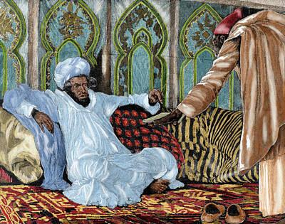 Message Art Photograph - Hassan I (1836-1894 by Prisma Archivo