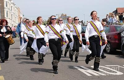 Photograph - New Esperance Morris Dancers by David Fowler