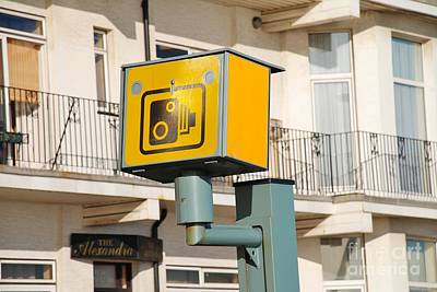 Mannequin Dresses - Hastings speed camera by David Fowler