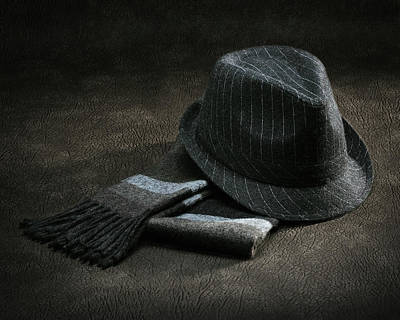 Photograph - Hat And Scarf by Krasimir Tolev