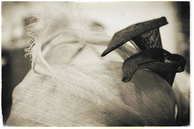 Photograph - Fashion Art - Calla Lilly Hat By Jo Ann Tomaselli by Jo Ann Tomaselli