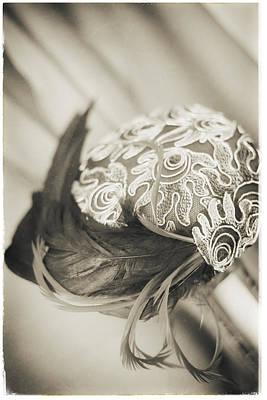 Photograph - Fashion Art - Deco Swirl Hat By Jo Ann Tomaselli by Jo Ann Tomaselli