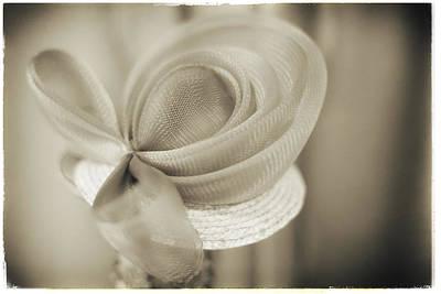 Photograph - Fashion Art - Proper Miss Hat By Jo Ann Tomaselli by Jo Ann Tomaselli