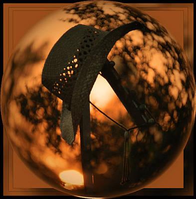 Photograph - Hat In A Bubble by Leticia Latocki
