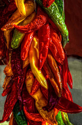 Photograph - Hatch Chili Peppers by Ken Smith