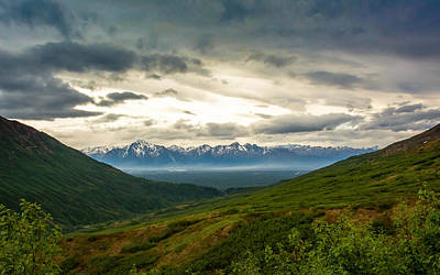 Photograph - Hatcher Pass Alaska by Shey Stitt