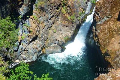 Creek Photograph - Hatchet Creek Falls by Joshua Greeson