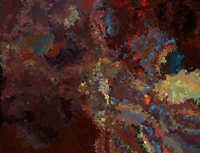 Nonrepresentational Digital Art - Hate Of Arts by Jim Williams