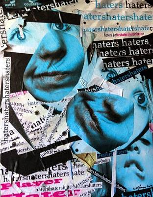 Painting - Haters by Michael  Singletary