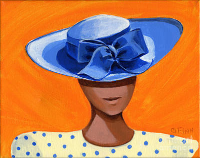 Painting - Hats For A Princess 1 by Gail Finn