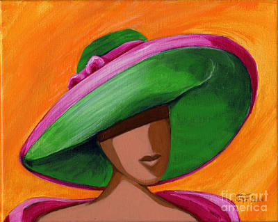 Hats For A Princess 2 Art Print by Gail Finn