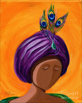 Painting - Hats For A Princess 3 by Gail Finn