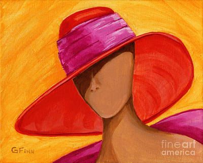 Hats For A Princess Art Print by Gail Finn
