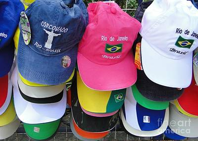 Photograph - Hats In Rio by Barbie Corbett-Newmin