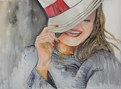 Painting - Hats Off To You by Paula Day