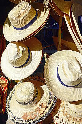 Photograph - Hats by Valentino Visentini