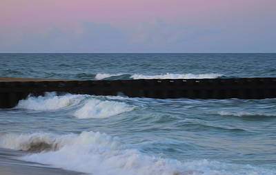 Outer Banks Photograph - Hatteras Groin 6 by Cathy Lindsey