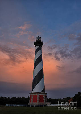 Photograph - Hatteras Lighthouse Dawn by Terry Rowe