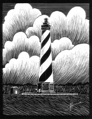Hatteras Lighthouse Art Print