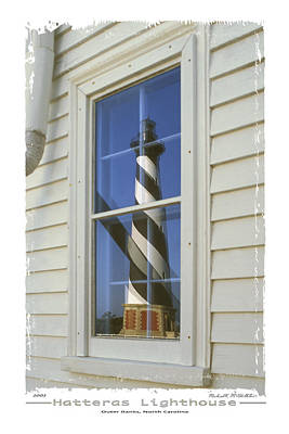 Outer Banks Photograph - Hatteras Lighthouse  S P by Mike McGlothlen