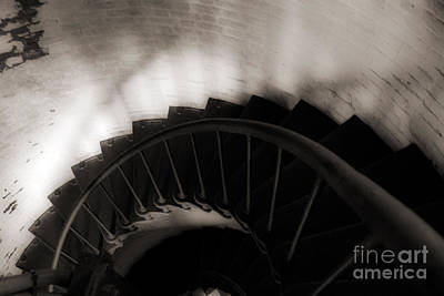 Photograph - Hatteras Staircase by Angela DeFrias