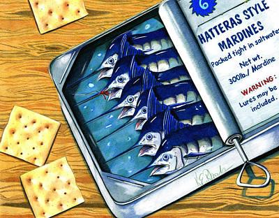 Hatteras Style Mardines Art Print