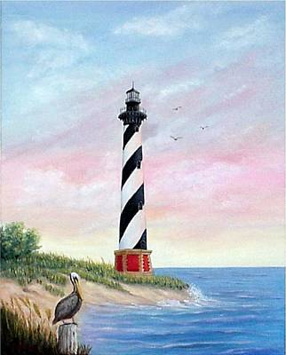 Hatteras Sunrise Art Print