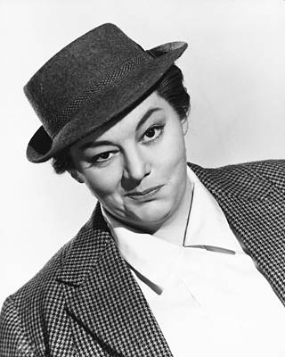 Jacques Photograph - Hattie Jacques by Silver Screen