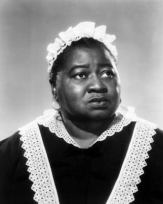 Gone With The Wind Photograph - Hattie Mcdaniel In Gone With The Wind  by Silver Screen